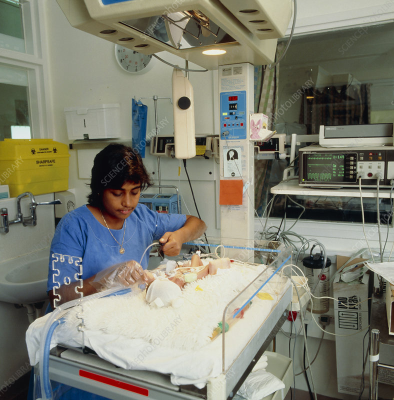 Neonatal infant in intensive care