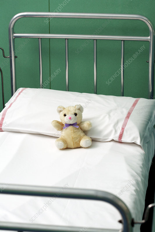 Child's hospital bed