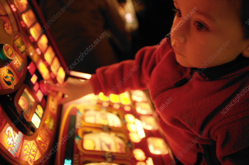 Child and gambling machine