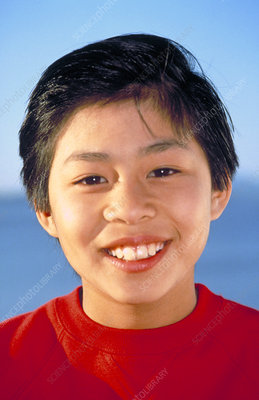 Vietnamese American 11 year-old boy
