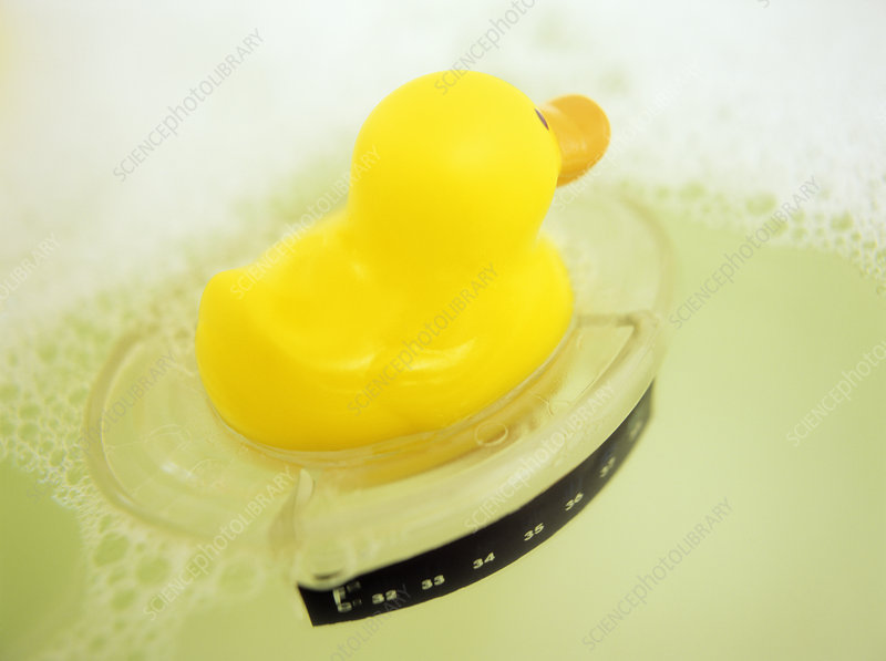 Child saftey: bath thermometer