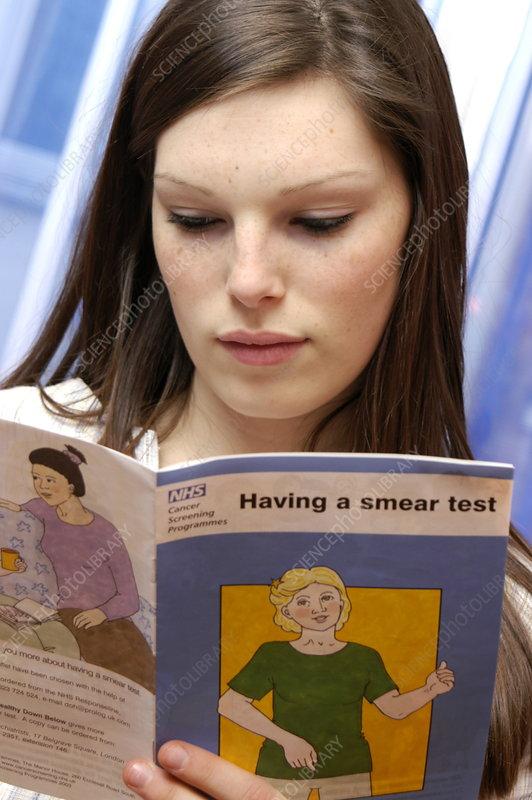 Cervical smear test information