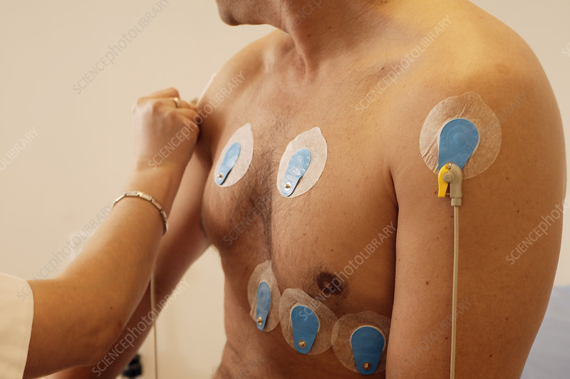 Heart fitness test - Stock Image M872/0446