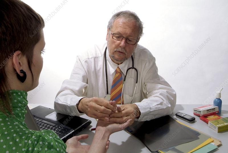 Finger+joint+arthritis