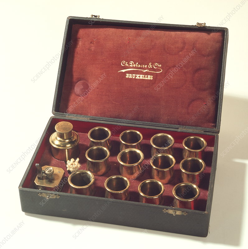 Historical cupping kit
