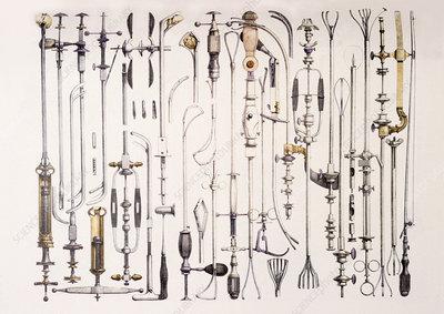 Instruments for removing bladder stones