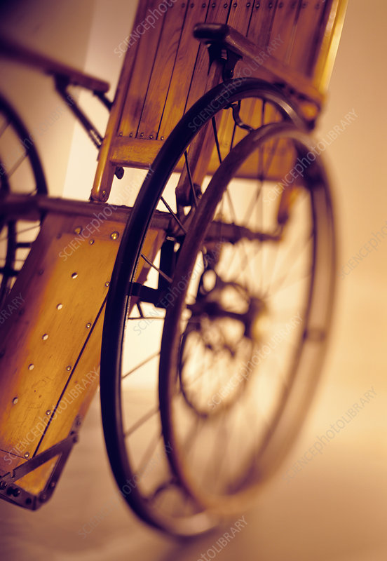 19th century wheelchair