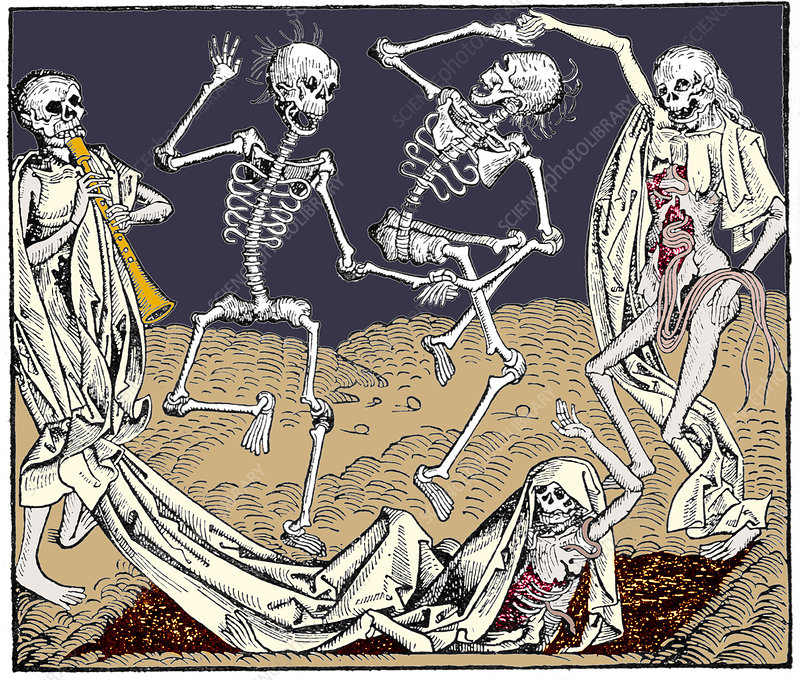 The Dance of Death, allegorical artwork