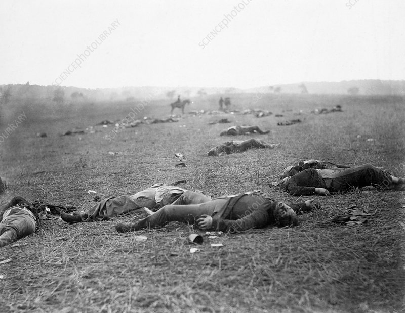 Dead Federal soldiers