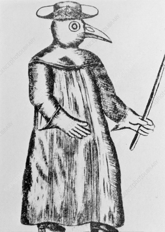 18th century plague doctor