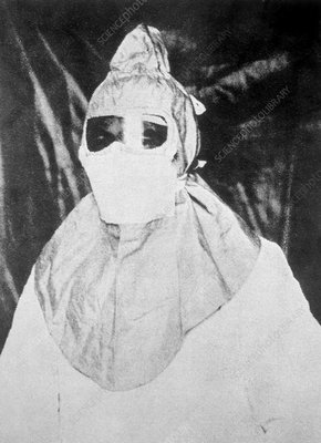 Mask for protection from plague