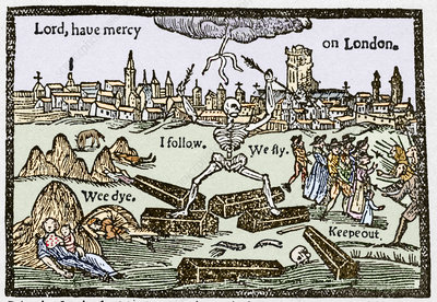 Plague in London, 1625