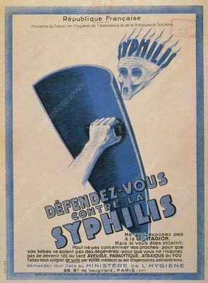 Defendez-vous contre la Syphilis, public notice