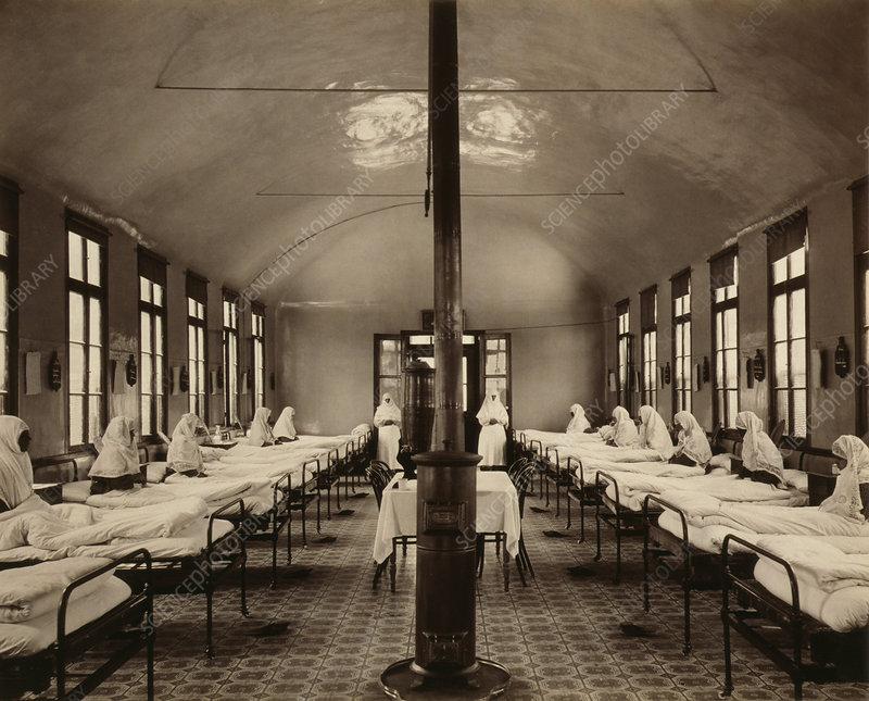 19th-century tuberculosis ward