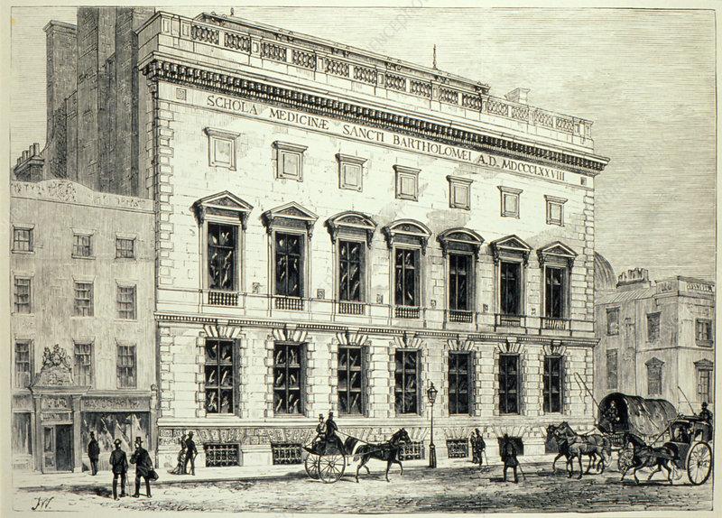 St. Bartholomew's Hospital, London 1879