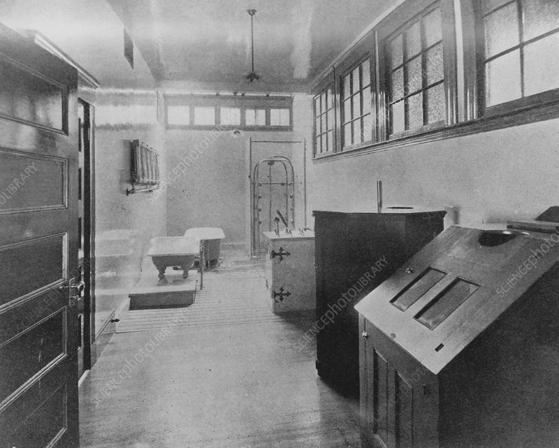 Hydropathic room