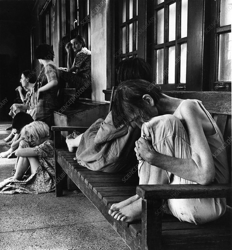 Ohio Insane Asylum, 1946