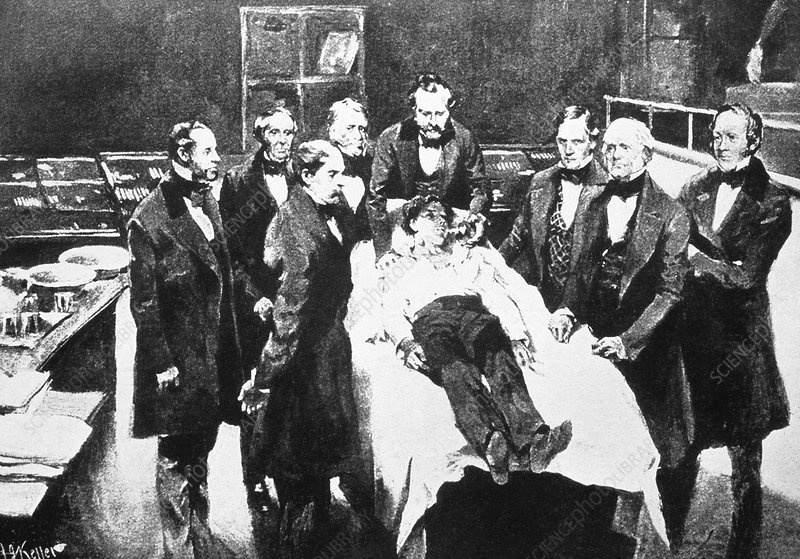 First general anaesthetic