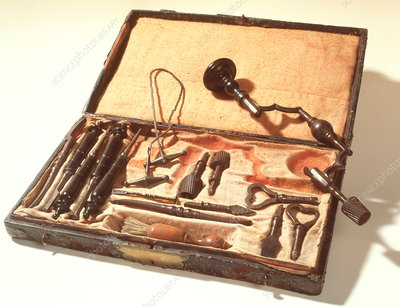 Historical surgical kit