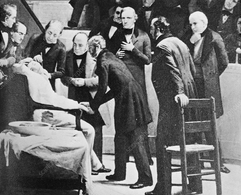 1846 anaesthetic demonstration