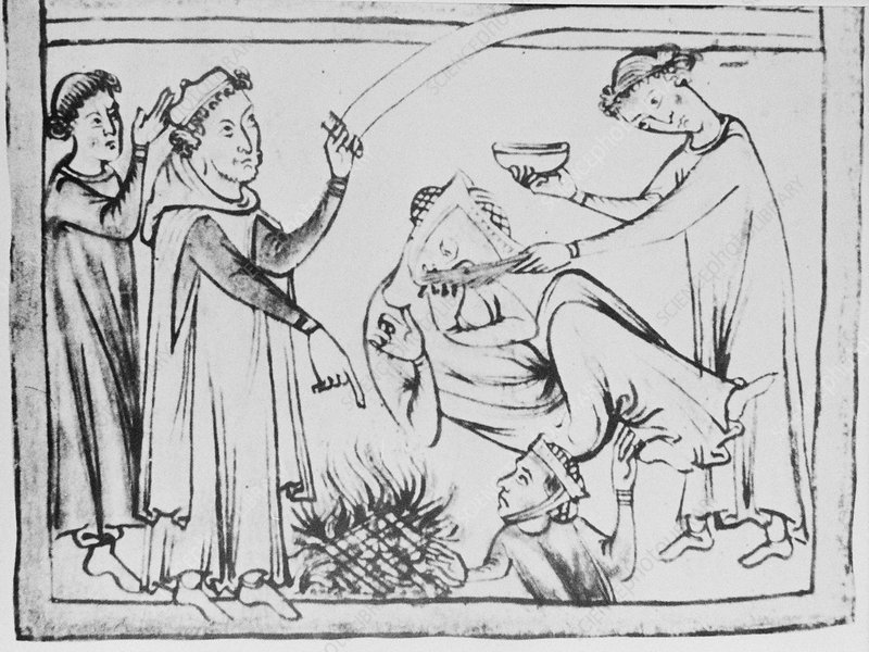 Medieval treatment for fainting
