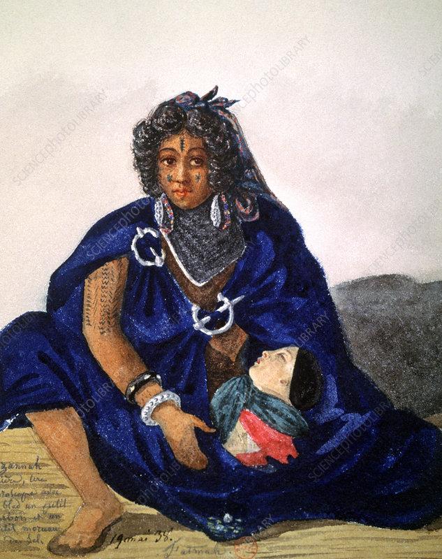 Tribal medicine, Algeria, 1838
