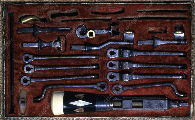 19th century dental tools