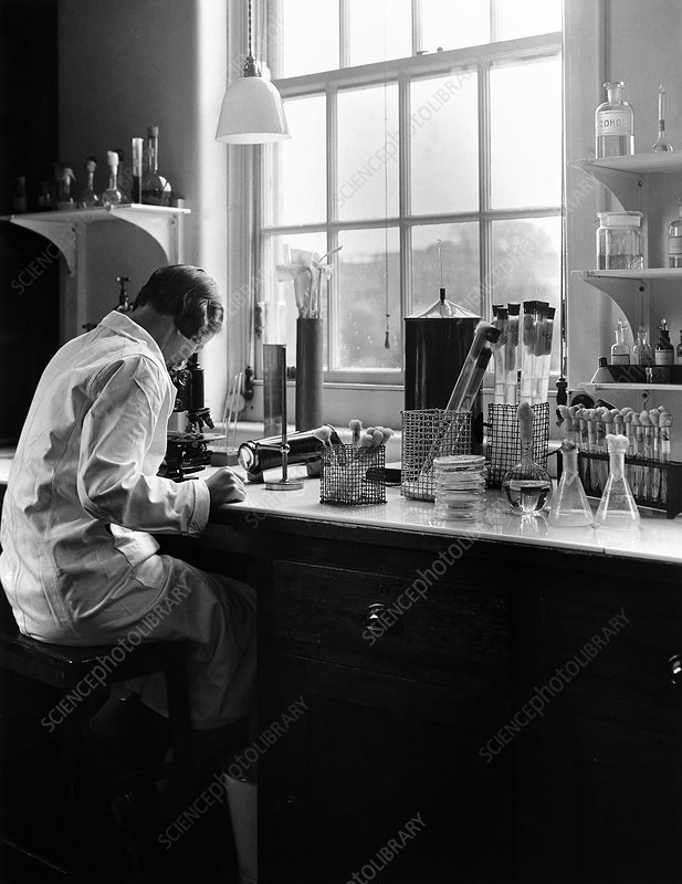 Microbiology laboratory