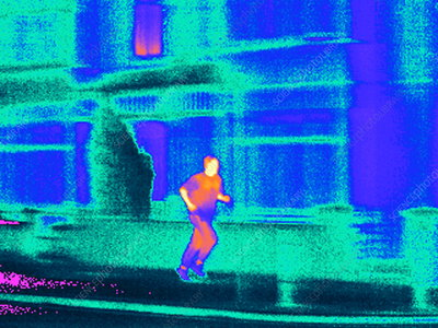 Jogging, thermogram