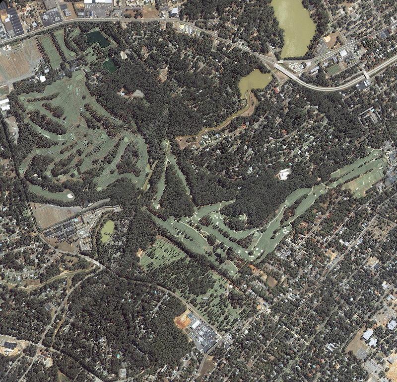 Augusta National golf course, USA