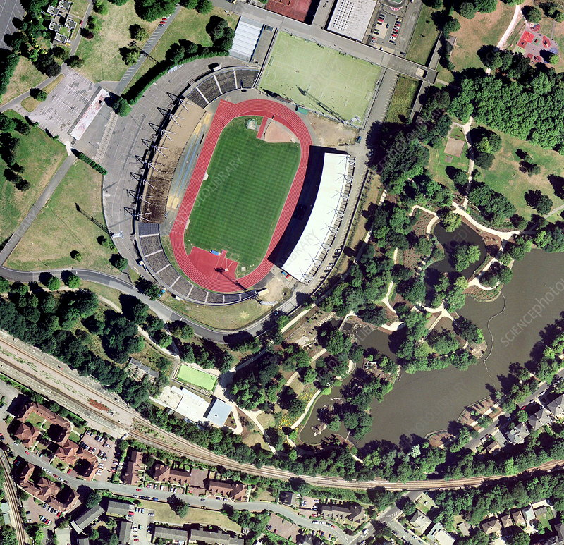 Crystal Palace Sports Centre, aerial view