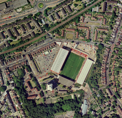 Charlton Athletic's Valley stadium