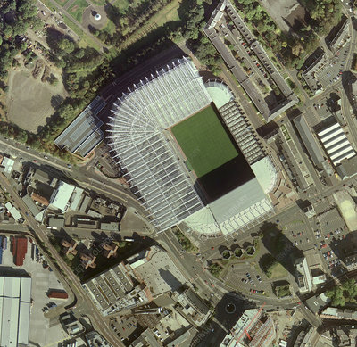 Newcastle United's St James' Park Stadium