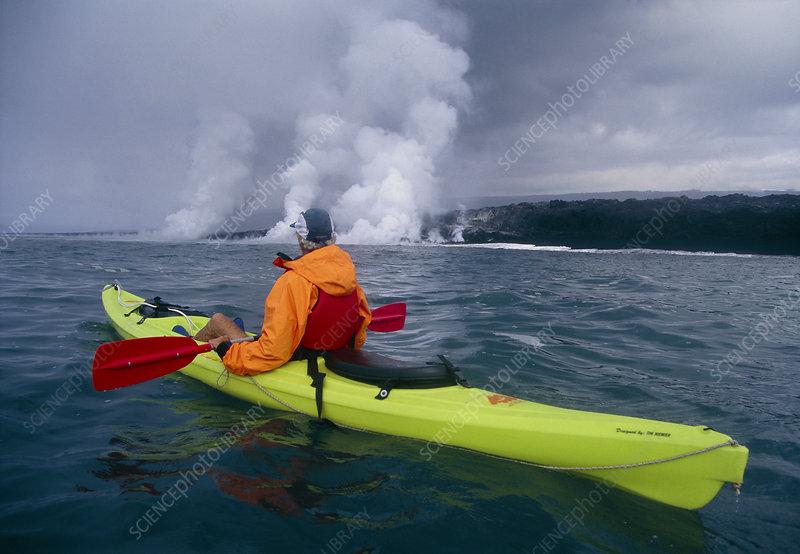 Sea kayaking, Hawaii