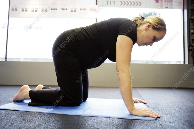 Pilates exercises during pregnancy