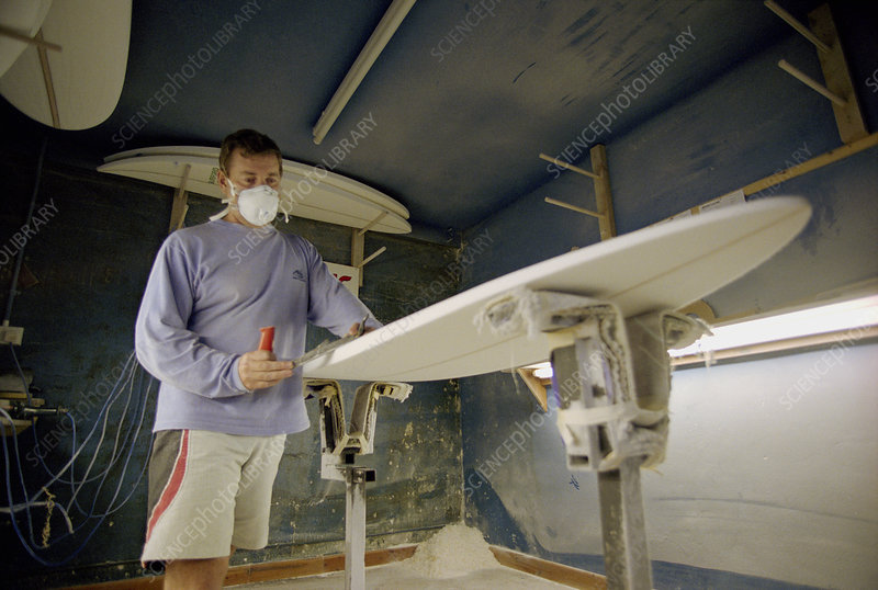 Surfboard manufacture