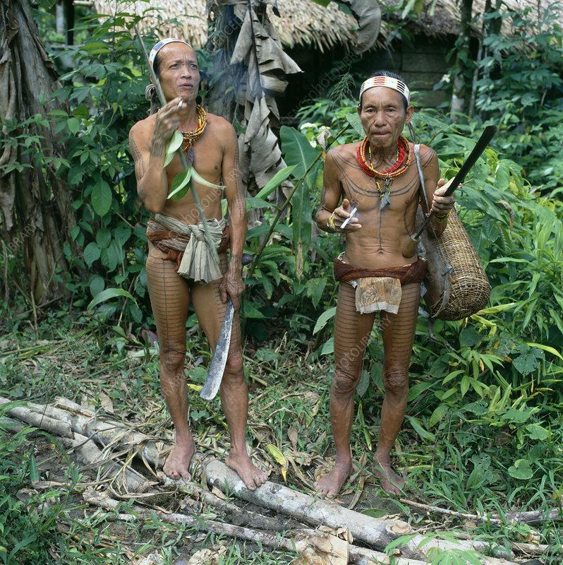 Mentawai tribesmen
