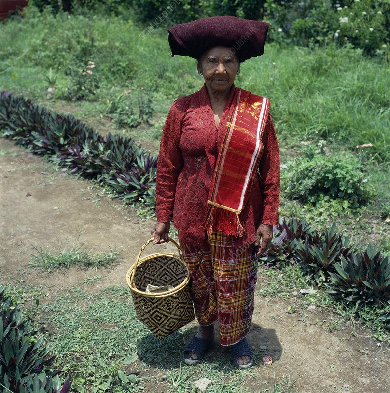 Traditional Sumatran cloth