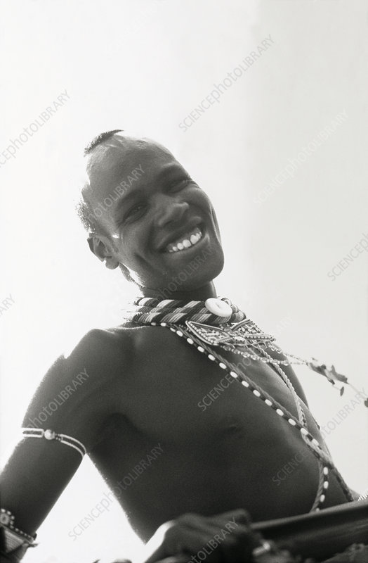 Samburu man, Kenya