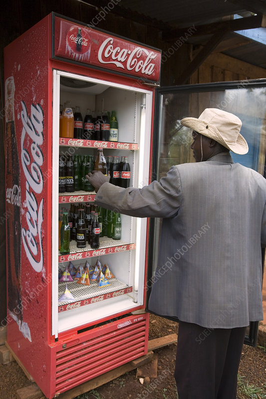 Cold drinks cabinet, Kenya