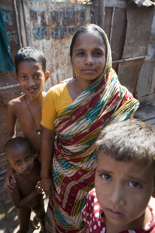 Bangladeshi family