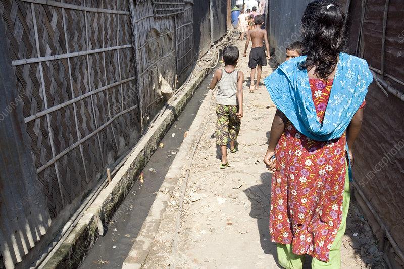 Bangladeshi slum