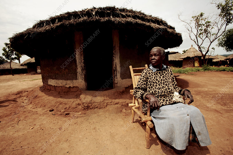 Elderly woman, Uganda