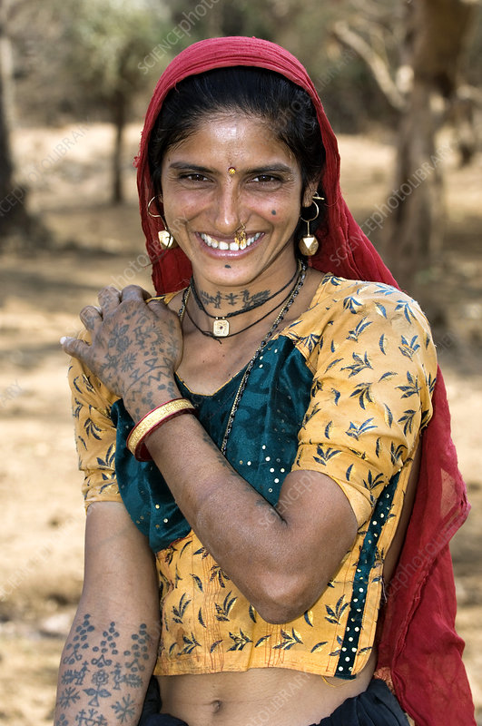 Maldhari woman