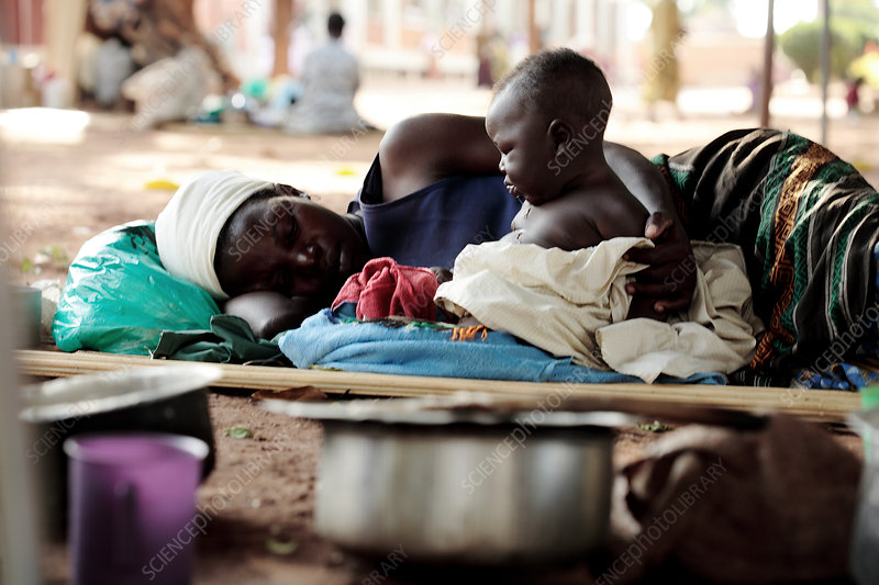 Ugandan mother and child