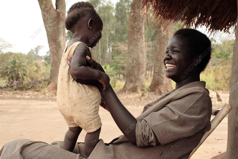Ugandan mother and child