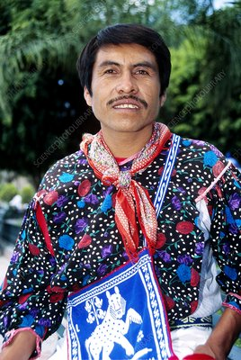 Mexican man in traditional dress