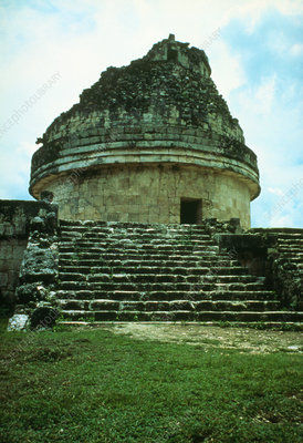 Caracol, a Mayan observatory in Mexico