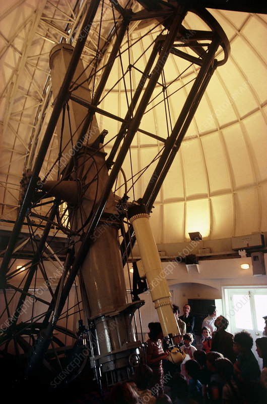 The Grubb refractor at old Greenwich Observatory