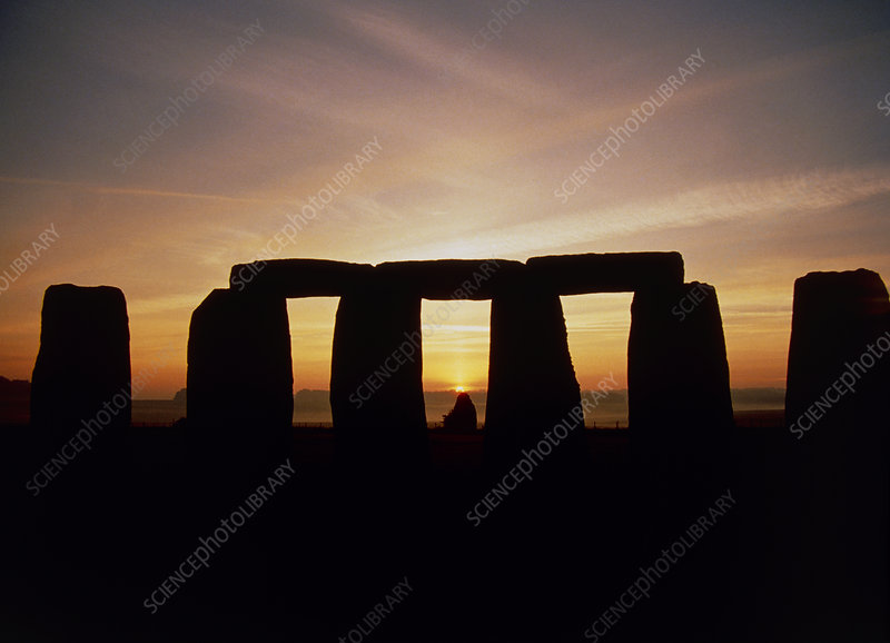 Midsummer sunrise at Stonehenge